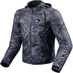 Revit Flare Textiljacke Schwarz 2XL