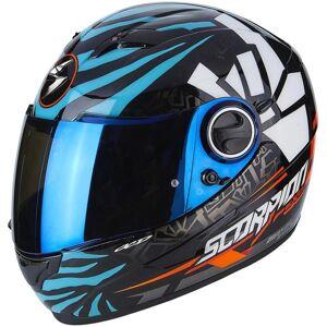 Scorpion Exo 490 Rok Bagoros Helm Schwarz Blau XS