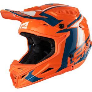 Leatt GPX 4.5 V22 Junior Helm Blau Orange 2XS XS