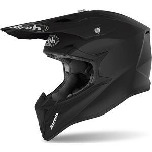 Airoh Wraap Color Motocross Helm Schwarz XL