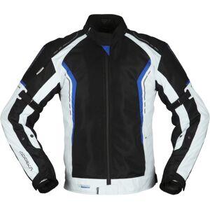 Modeka Khao Air Motorrad Textiljacke Schwarz Grau Blau M