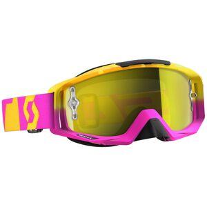 Scott Tyrant Oxide Chrome Works Brille Pink Gelb Einheitsgröße