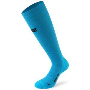 Lenz Compression 2.0 Merino Socken Blau S