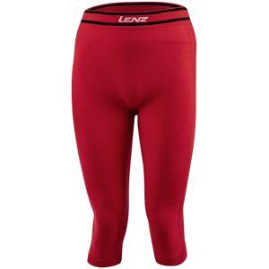 Lenz 6.0 Merino 3/4 Funktionshose Rot XL