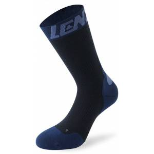 Lenz 7.0 Mid Merino Kompression Socken Blau 35 36 37 38