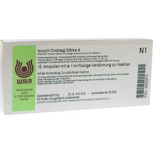 ISCUCIN crataegi Stärke A Ampullen 10X1 ml