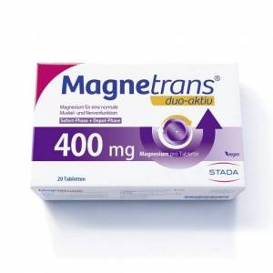 DUO MAGNETRANS duo-aktiv 400 mg Tabletten 20 St