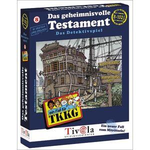 Tivola Verlag - TKKG: Das geheimnisvolle Testament