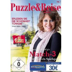 Rokapublish - Puzzle & Reise Vol.7 - Match 3: Türkei