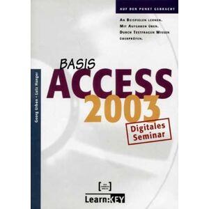 Teia Lehrbuch Verlag - Access 2003 Basis - Lernprogramm/Digitales Seminar. CD-ROM für Windows
