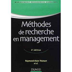 Raymond-Alain Thiétart - Méthodes de recherche en management