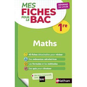 Mathématiques 1re