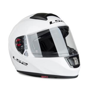LS2 Helm LS2 FF397 Vector Solid Weiß