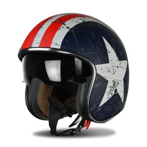 Origine Offener Helm Origine Sprint Rebel Star Rot