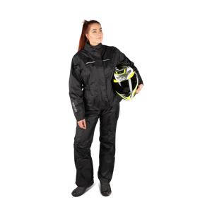 Spidi Touring-Regenbekleidung Schwarz Damen