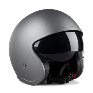LS2 Helm LS2 OF599 Spitfire Single Mono Offen Matt Titanium