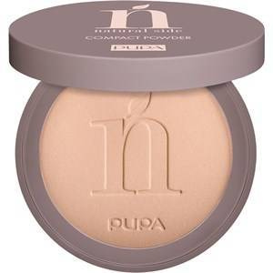 Pupa Milano Teint Puder Natural Side Compact Powder Nr. 001 Light Beige 8 g