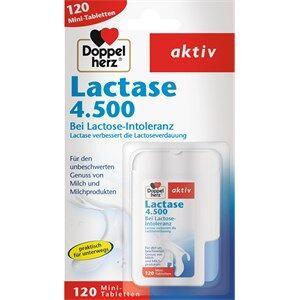 Doppelherz Gesundheit Magen & Verdauung Lactase 4.500 Tabletten 120 Stk.