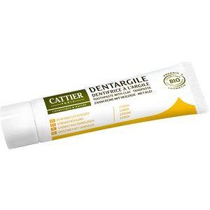 Cattier Pflege Zahnpflege Zitrone Zahncreme mit Heilerde 75 ml