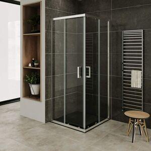MOMENTS OF GLASS Mampara de duche vidro transparente de seguridad 6mm, altura: 190 cm DK