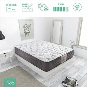 DREAMING KAMAHAUS Colchón Luxury Visco Tencel 5 cm VISCOACTIVE CARBONO-GEL STRETCH