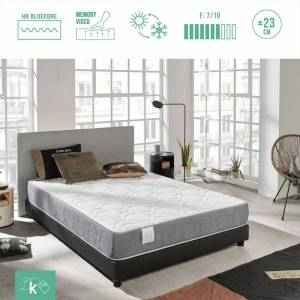 Dreaming Kamahaus - Colchón Extreme comfort Sistema Confort Plus 4cm