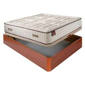 AZNAR Colchón Hr Cotton con visco 27 cm extra firme transpirable + Canapé