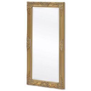 VidaXL Espejo de pared estilo barroco 100x50cm dorado Vida XL