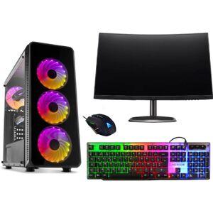 ART Desktop Gaming ART-PC 2248-5001 (Intel 1200 Core i5-10600 - NVIDIA GeForce GTX 1660 - RAM: 8 GB - 3 TB HDD + 500 GB SSD)