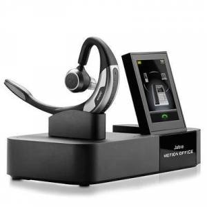 Jabra Motion Office Microsoft Optimized Mono Bluetooth Headset w/ NFC And Noise-Canceling Technology headset for zoom meetings
