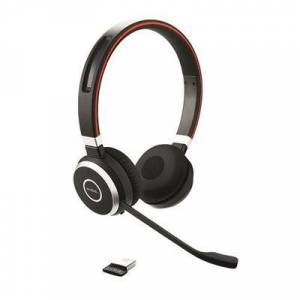 Jabra Evolve 65 Stereo UC Stereo - Link 370 Wireless Headset With USB Dongle headset for zoom meetings (6599-829-409)