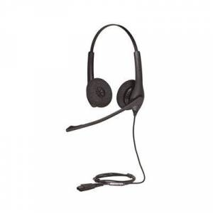 Jabra BIZ 1500 Duo QD Stereo Corded Headset headset for zoom meetings