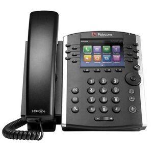 "Polycom """"""Polycom VVX 410 Business Media Phone 12 Line PoE With High Definition Audio Technology (2200-46162-025) """"A-Stock"""""""""""