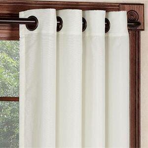 Commonwealth Home Fashion, Inc Rhapsody Wide Width Grommet Panel, 104 x 84, Eggshell