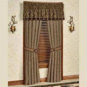 Hiend Accents Highland Lodge Tailored Curtain Panel Sage 48 x 84, 48 x 84, Sage