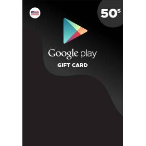 Google LLC Google Play Gift Card 50 USD Key NORTH AMERICA