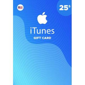 Apple iTunes Gift Card 25 USD iTunes Key NORTH AMERICA
