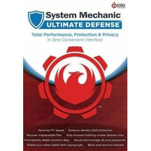 iolo System Mechanic Ultimate Defense 5 Devices 1 Year iolo Key GLOBAL