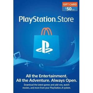 Sony PlayStation Network Card 50 USD (USA) PSN Key UNITED STATES