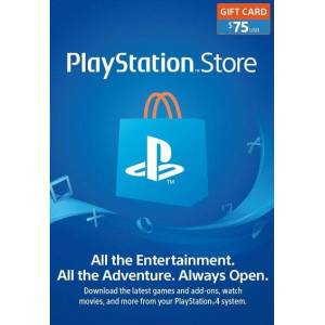 Sony PlayStation Network Card 75 USD (USA) PSN Key UNITED STATES