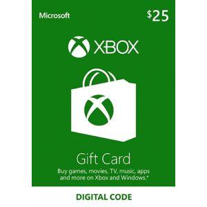 Microsoft Xbox Live Gift Card 25 USD Xbox Live Key UNITED STATES
