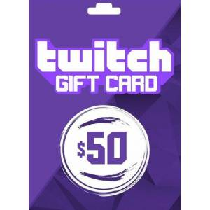 Amazon Twitch Gift Card 50 USD Key UNITED STATES