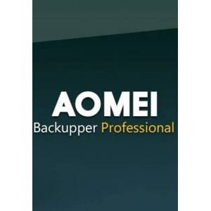 AOMEI Backupper Professional + Free Lifetime Upgrades 1 Device Lifetime Key GLOBAL