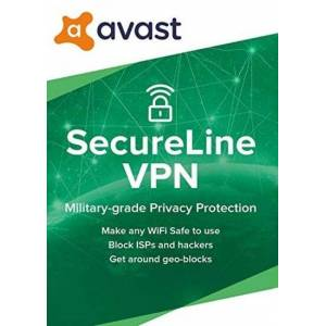 Avast SecureLine VPN 1 Device 2 Years Avast Key GLOBAL
