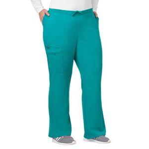 Jockey Encompass Scrubs Plus Size Women& 39;s Jockey Scrubs Women& 39;s Favorite Fit Pant by Jockey Encompass Scrubs in Teal (Size L)