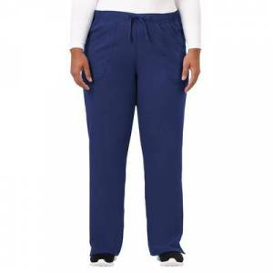 Jockey Encompass Scrubs Plus Size Women& 39;s Jockey Scrubs Women& 39;s Extreme Comfy Pant by Jockey Encompass Scrubs in New Navy (Size M)