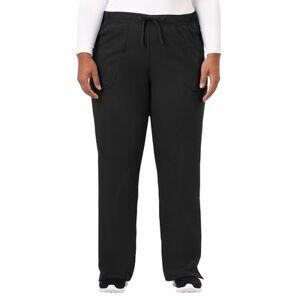 Jockey Encompass Scrubs Plus Size Women& 39;s Jockey Scrubs Women& 39;s Extreme Comfy Pant by Jockey Encompass Scrubs in Black (Size LT)
