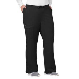 Jockey Encompass Scrubs Plus Size Women& 39;s Jockey Scrubs Women& 39;s Favorite Fit Pant by Jockey Encompass Scrubs in Black (Size L)