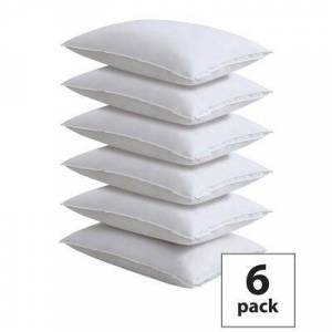 Levinsohn Textiles Fresh Ideas Master Block Easy Care Pillow Protector 6-Pack by Levinsohn Textiles in White (Size KING)