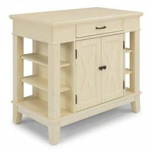 Homestyles Seaside Lodge Kitchen Island by Homestyles in White
